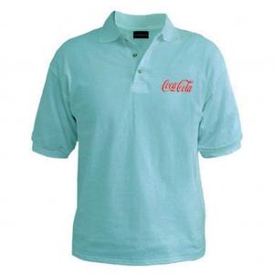 Customized Collar Tshirt (Aqua)