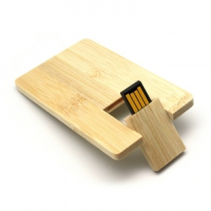 Customised Wooden Card Pendrive- 902