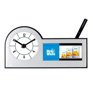 Customized Pen Holder With Clock- NB91119