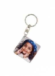 Photo Keychain (Square)