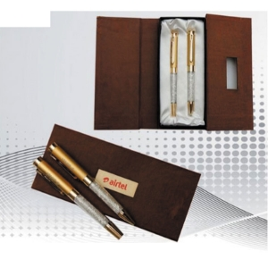 Customized Pen Set (Brown- 905)