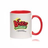 Customized Mug -Color Inside & Handle Color Mug (Red)