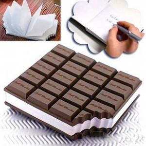 Customized Chocolate Notepad