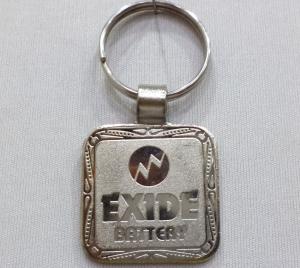 Logo Metal Keychain 5