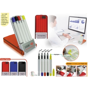 Customized 6 in 1 Stationery Kit (93339)