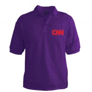Customized Collar Tshirt (Purple)