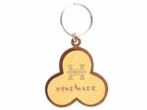 Customized Wooden Keychain- 904