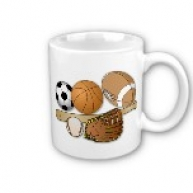All Sports White Mug
