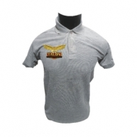 Customized Multicolor Polo Tshirt  (Grey)