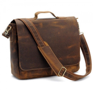 Customised Leather Laptop Bag- 904