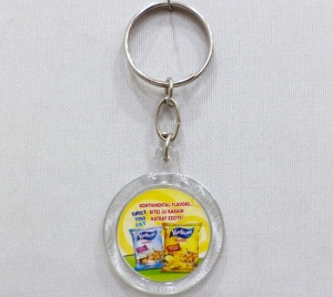 Logo Plastic Keychain 1