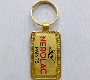 Logo Metal Keychain- 26