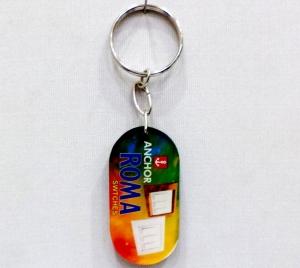 Logo Acrylic Keychain 9