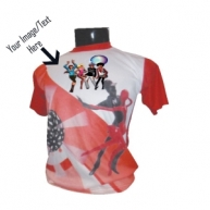 Customized Full Color Tshirt (Dance)
