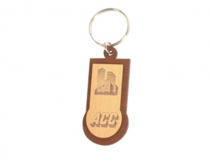 Customized Wooden Keychain- 920