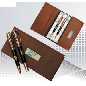 Customized Pen Set (Brown- 904)