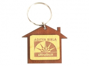 Customized Wooden Keychain- 913