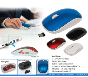 Customised Wireless Mouse- 94569