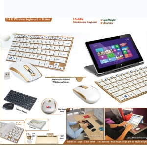 Customised Wireless Keyboard with Mouse 9KM079