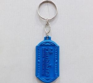 Logo Plastic Keychain 4