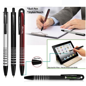 Customized 2 in 1 Pen With Stylus (92329)