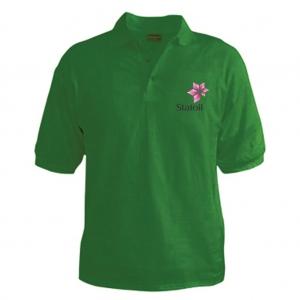 Customized Collar Tshirt (Green)