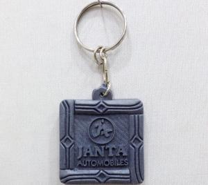 Logo Plastic Keychain 5