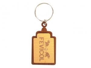 Customized Wooden Keychain- 914