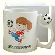 Soccer Handle Mug