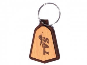 Customized Wooden Keychain- 909