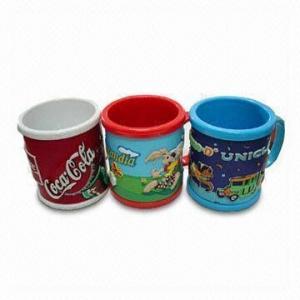 Customized Soft PVC Mug- 902