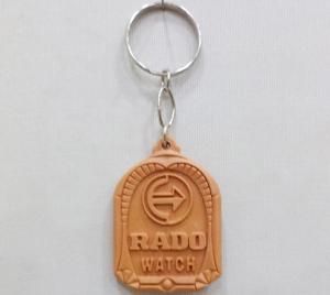 Logo Plastic Keychain 6