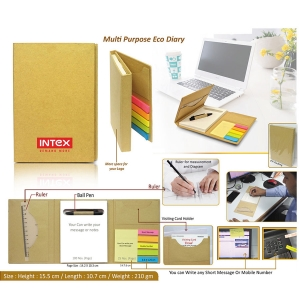 Customised Eco Notepad - 98069