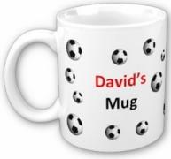 Soccer Mug with Name