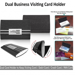 Customized Dual Card Holder (9H-92211)