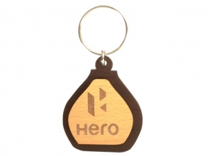 Customized Wooden Keychain- 902