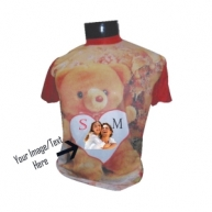 Customized Full Color Tshirt (Heart)