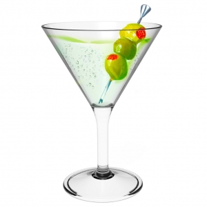 Martini Glass 902- Unbreakable- Set of 6