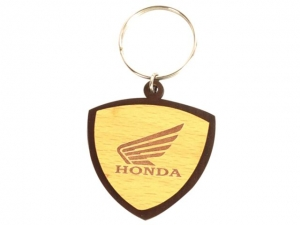 Customized Wooden Keychain- 906