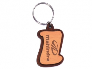 Customized Wooden Keychain- 907