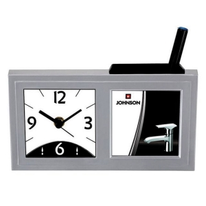 Customized Pen Holder With Clock- NB9599