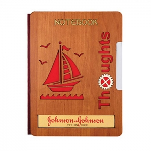 Customized Wooden Diary- 908