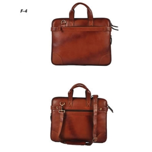 Customized Leather Laptop Briefcase- 02