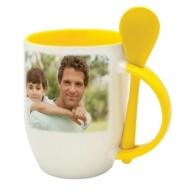 Spoon Mug (Yellow)