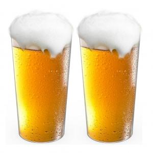 Disposable Beer Glass- Unbreakable- Set of 20